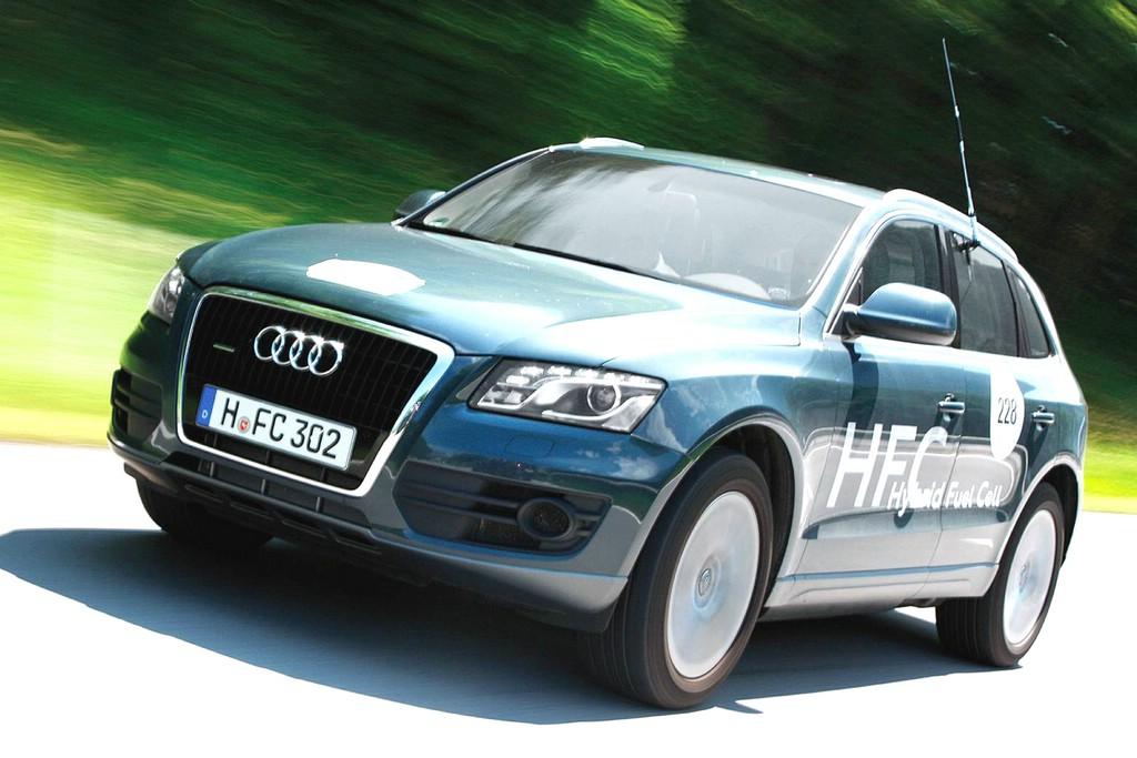 Der Audi Hybrid Fuel Cell auf deutschen Straßen