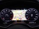 Audi TT Tacho 2014: Drehzahlmesser und Navi