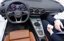 Das Cockpit des Audi TT 2014 Lenkrad Mittelkonsole