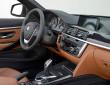 Das Cockpit des BMW 4er Cabrio, Lederausstattung inklusive