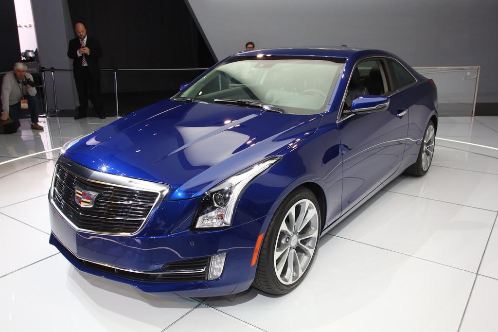 Cadillac ATS Coupé auf der Detroit Motor Show 2014