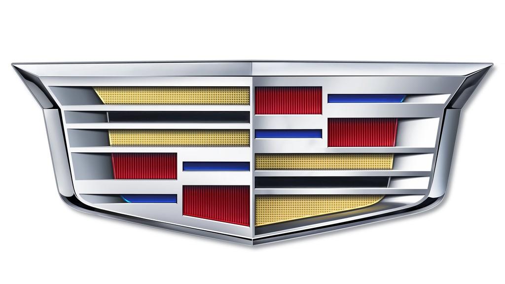 Das Logo von Cadillac ab 2014
