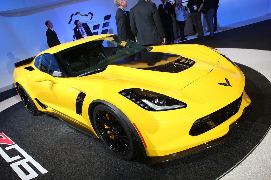 Corvette Z06 auf der Detroit Motor Show 2014
