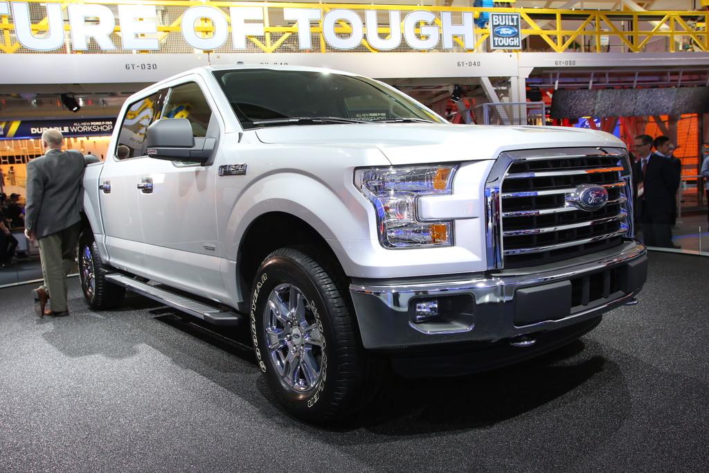 Ford F-150 auf der Detroit Motor Show 2014