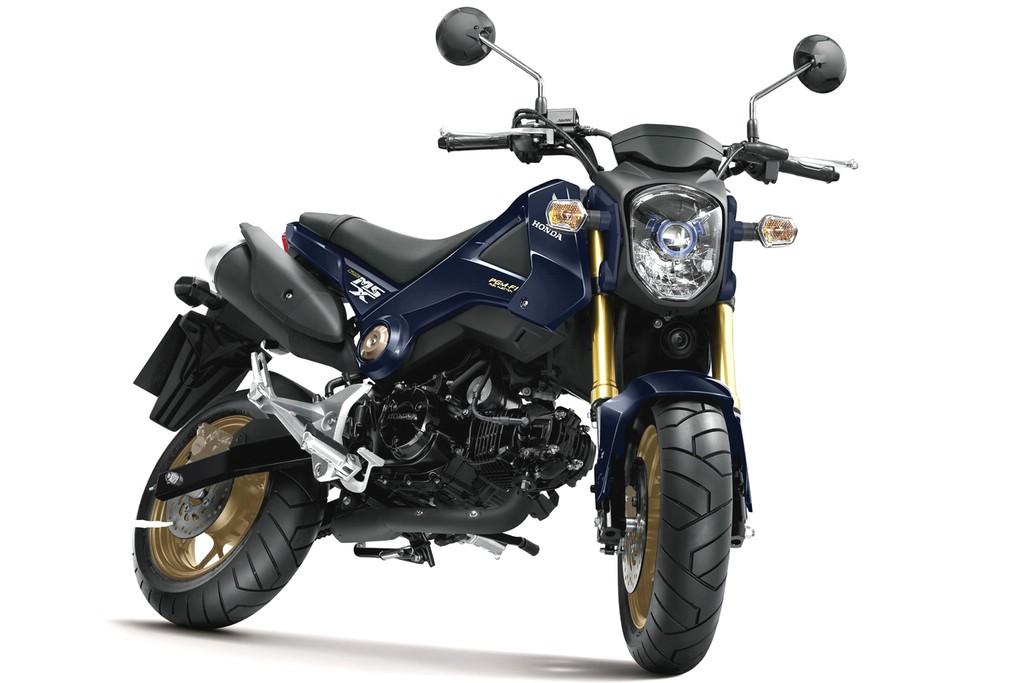Spaßmotorrad Honda MSX125 Modelljahr 2014