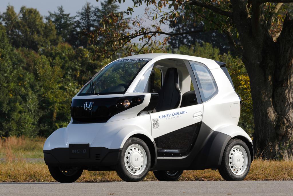 Elektro-Kleinstwagen Honda Micro Commuter