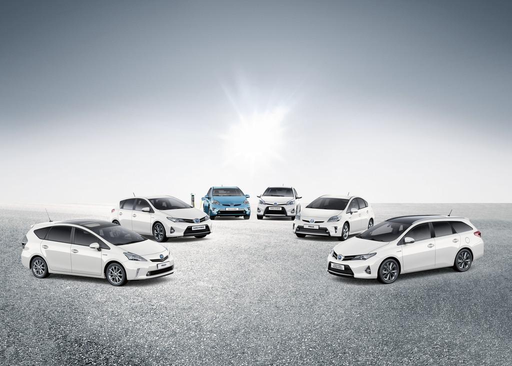 Die Modelle von Toyota mit Hybridantrieb