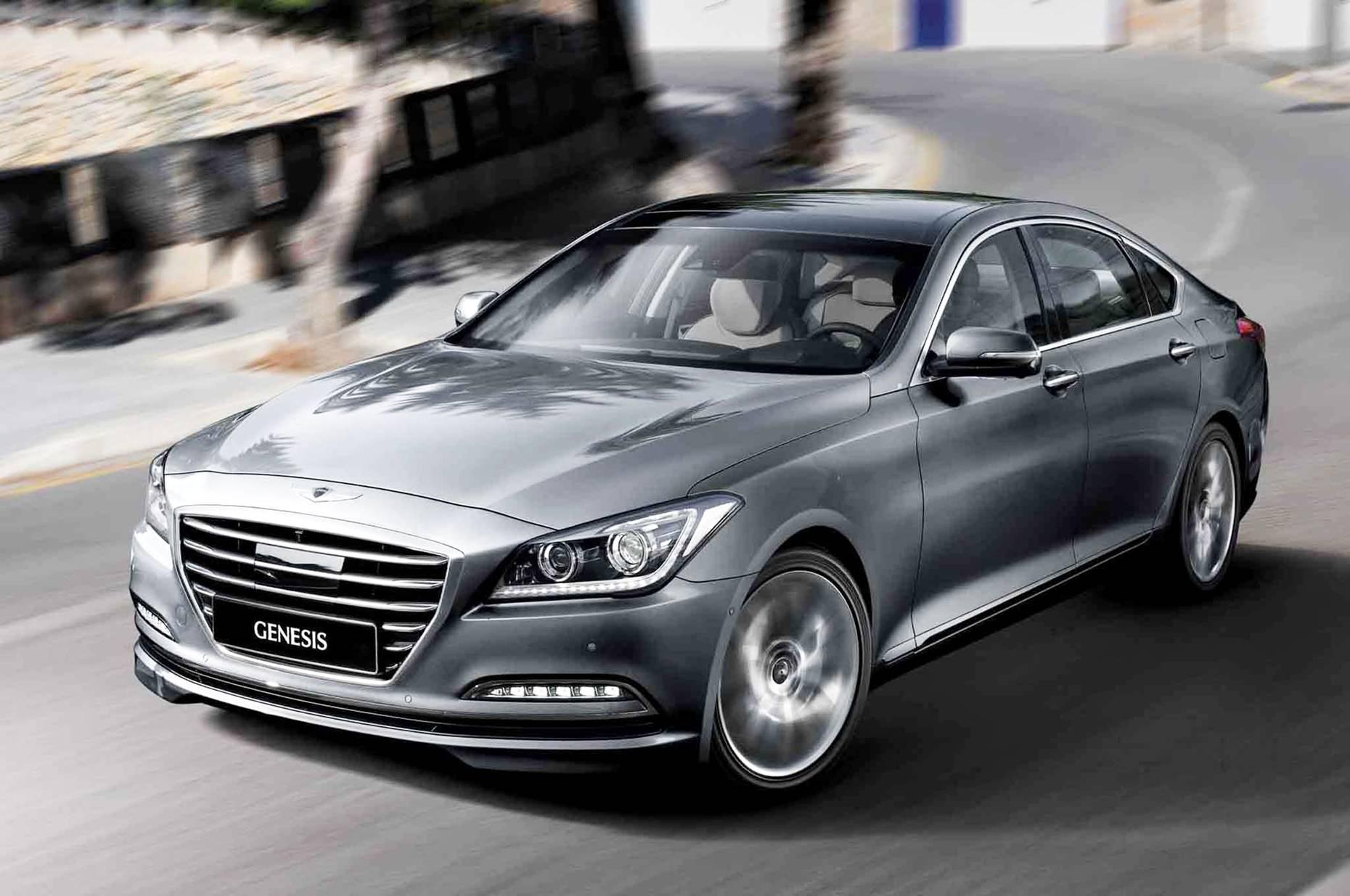die zweite Generation des Hyundai Genesis