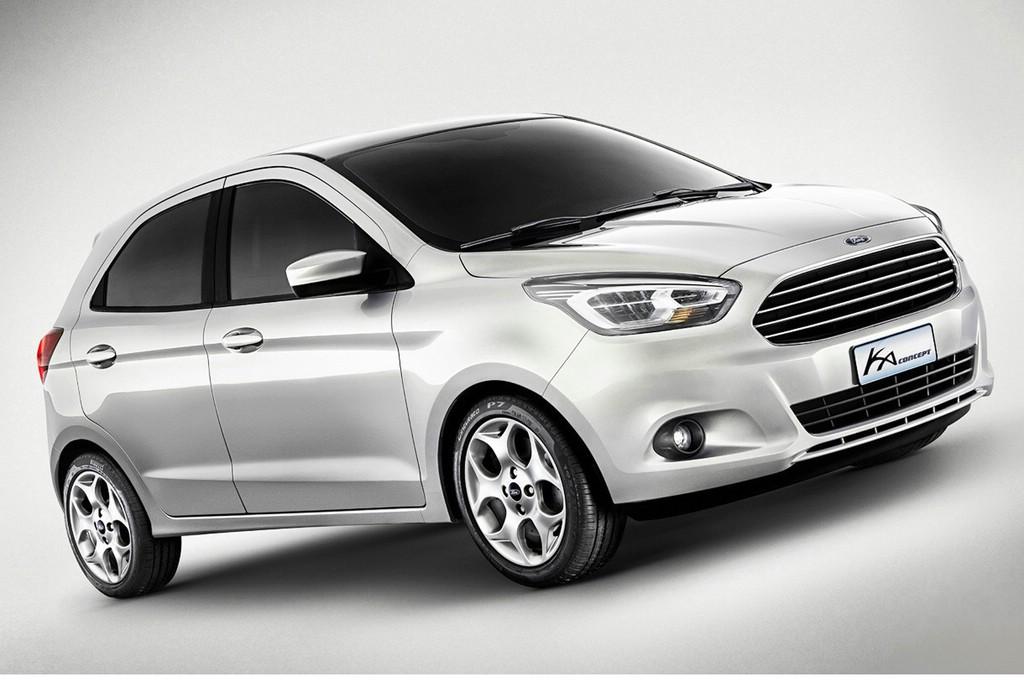 Concept Car Ford Ka wird 2014 serienreif sein