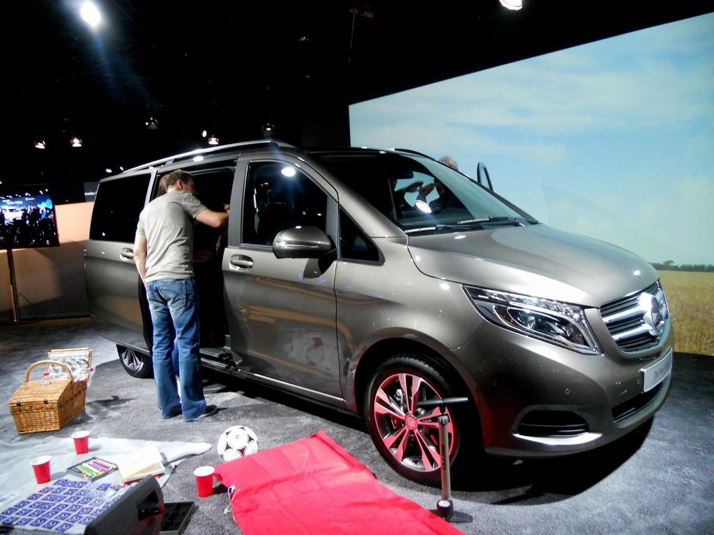 Mercedes-Benz präsentiert in München die neue V-Klasse
