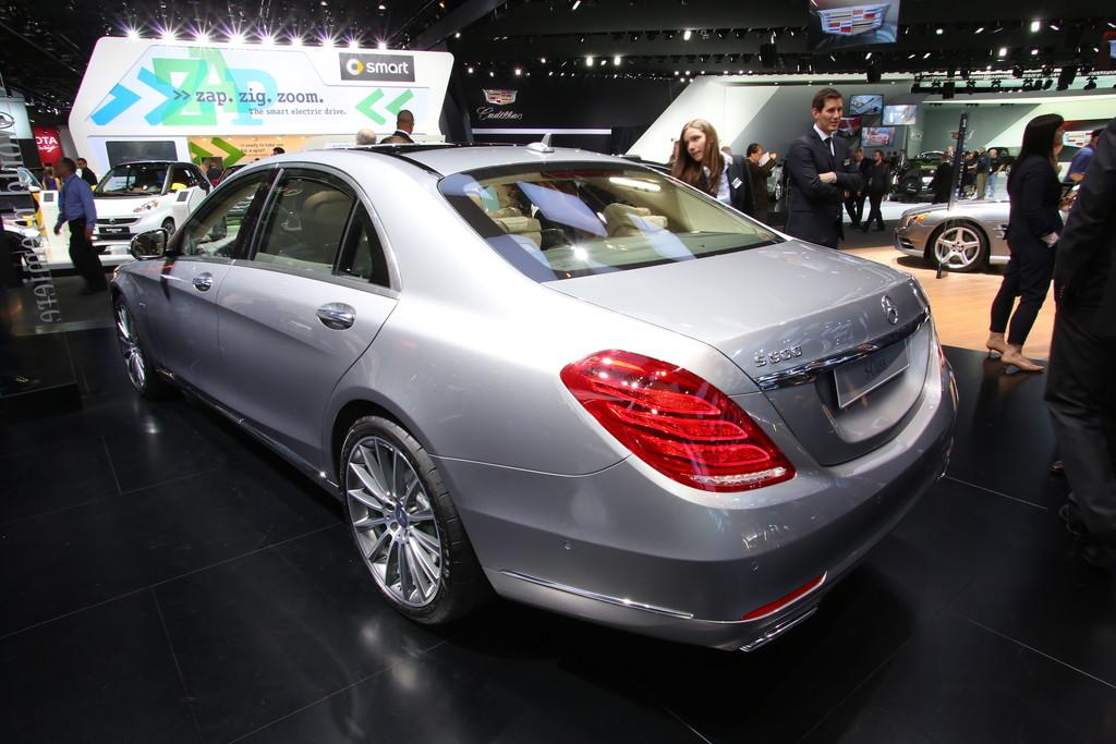 Galerie mercedes benz s600 detroit 2014 bilder und fotos for Mercedes benz s600 2014