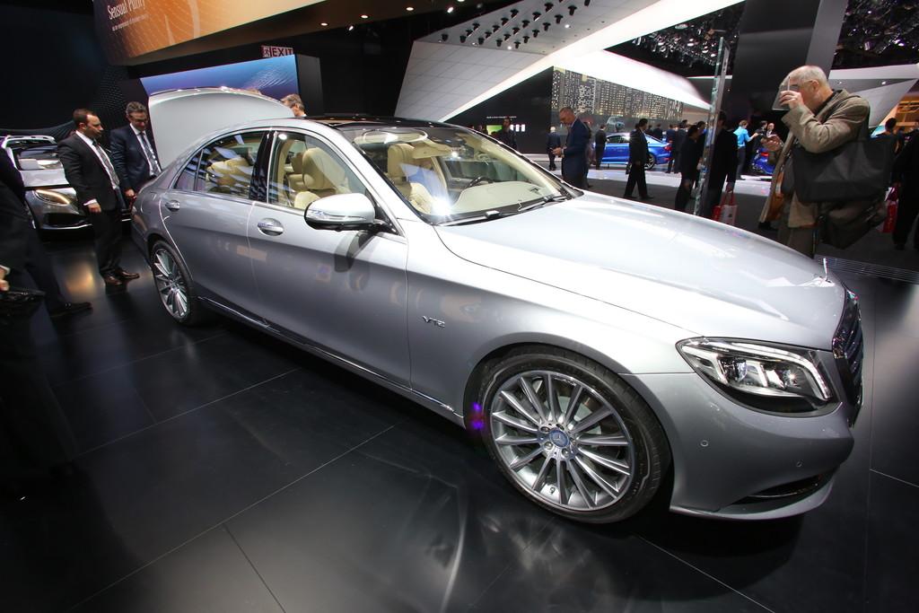 Mercedes-Benz S600 auf der Detroiter Automesse NAIAS 2014