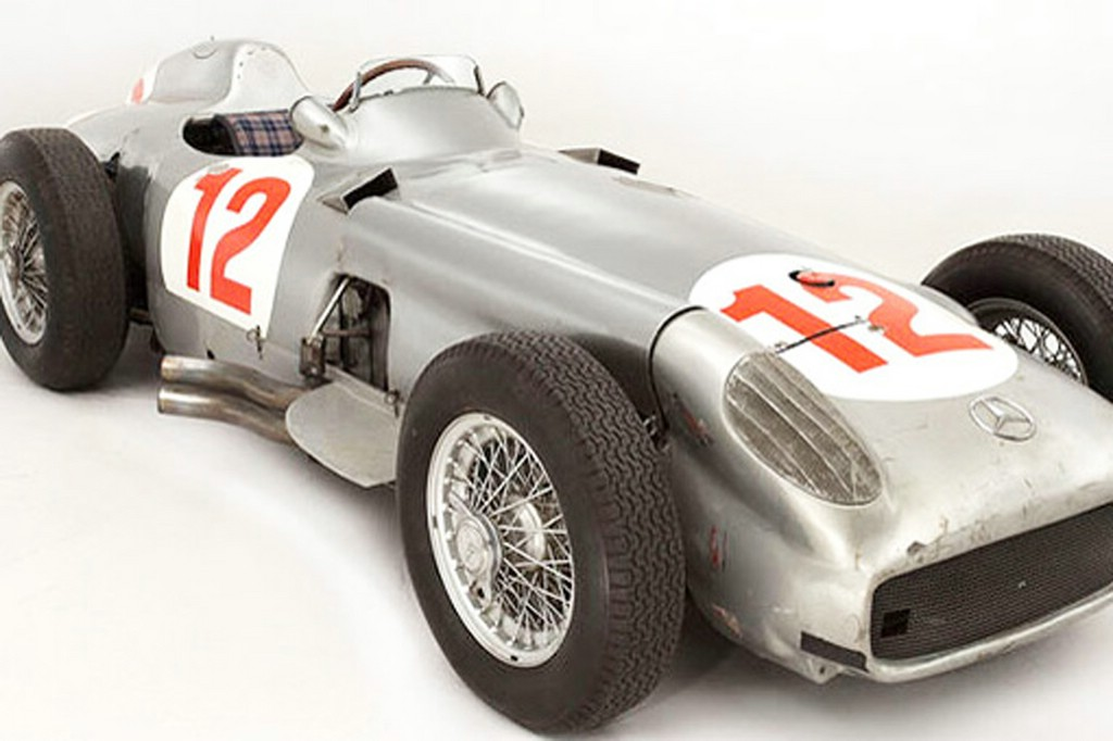 Dieser Mercedes Silberpfeil W196 ist 29,7 Millionen Dollar Wert