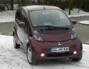 Der Mitsubishi i-MiEV kommt im Winter 61 Kilometer weit