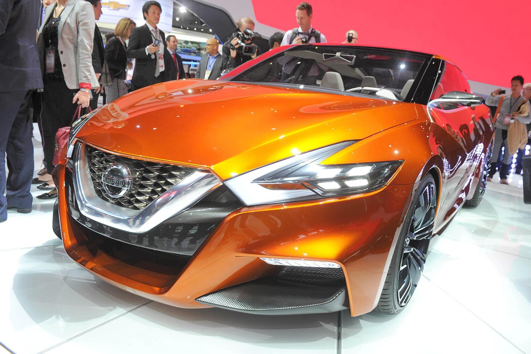 Nissan Sport Sedan auf der Detroit Motor Show 2014