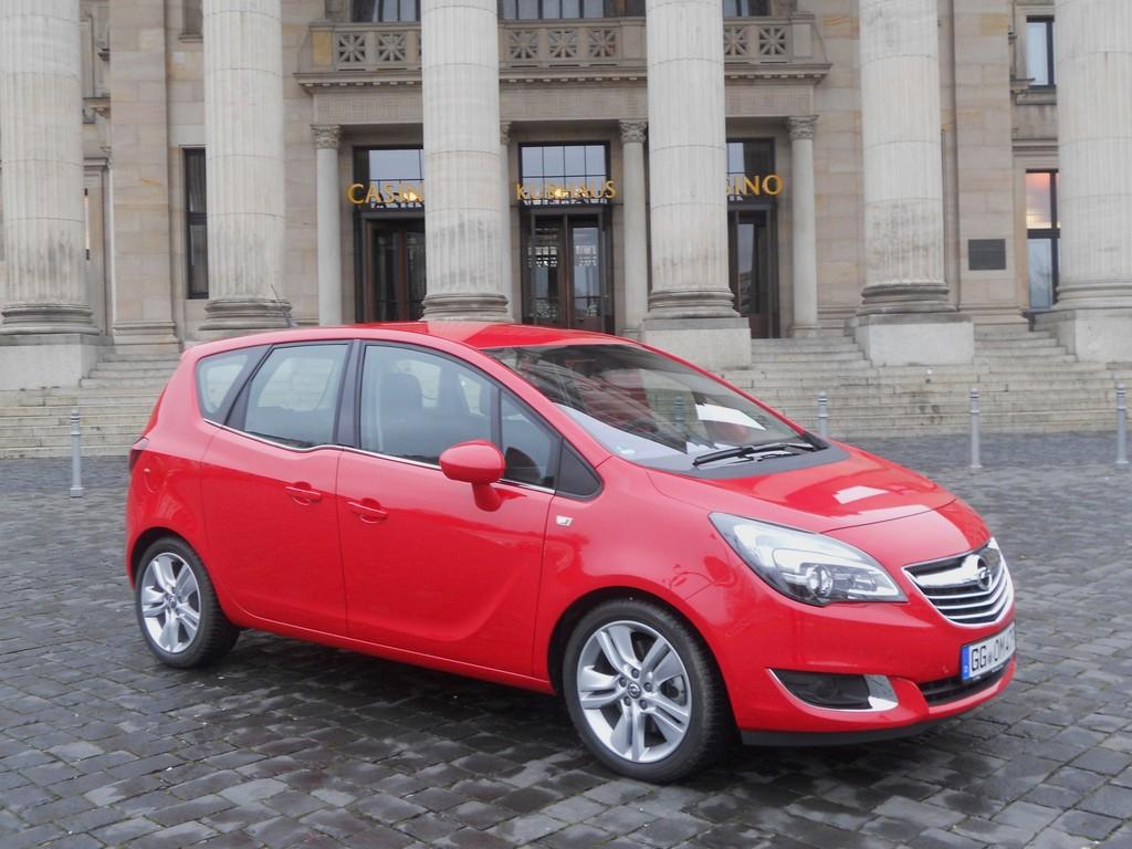Exterieur Bild vom Opel Meriva Facelift 2014