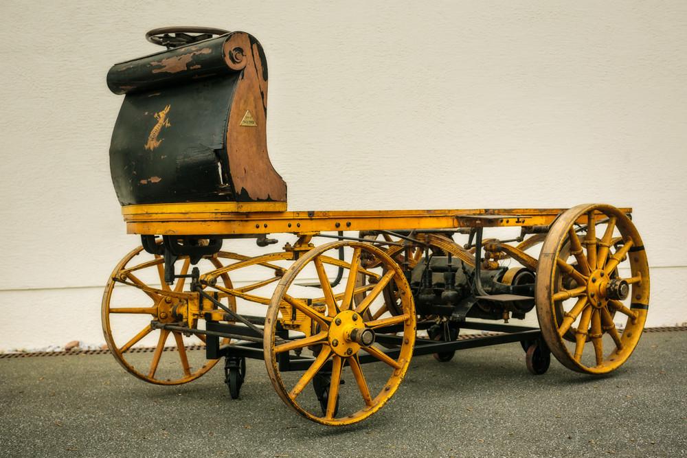 Der Porsche P1 gewann 1899 das Rennen in Berlin