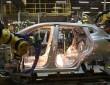 Die nackte Karosserie des Nissan Qashqai