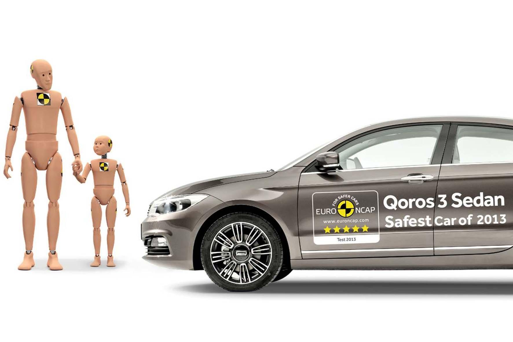 Der Qoros leistete sich beim NCAP-Crashtest keine Schwächen
