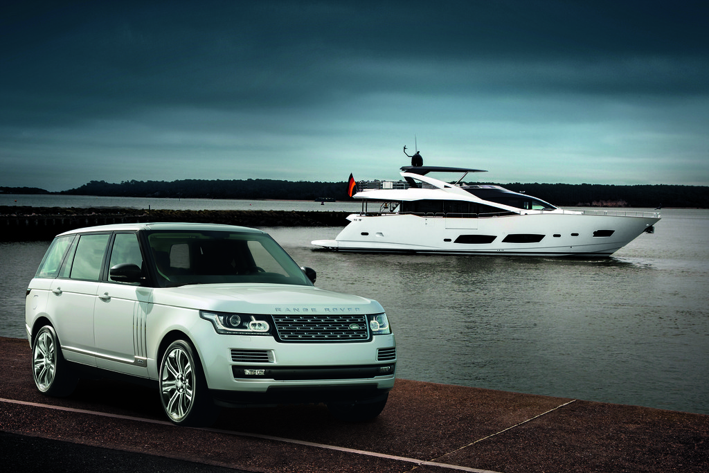Die Langversion des Range Rover von Land Rover