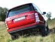 Range Rover Vogue, Achsverschränkung