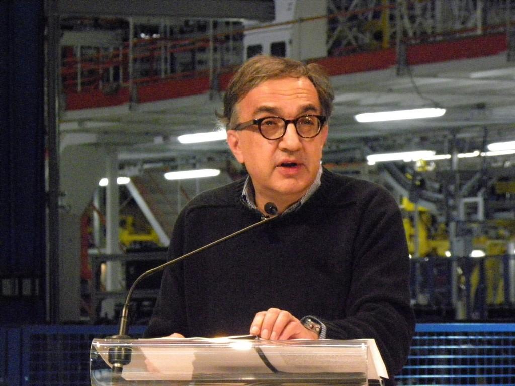 Der Fiat-Boss Sergio Marchionne