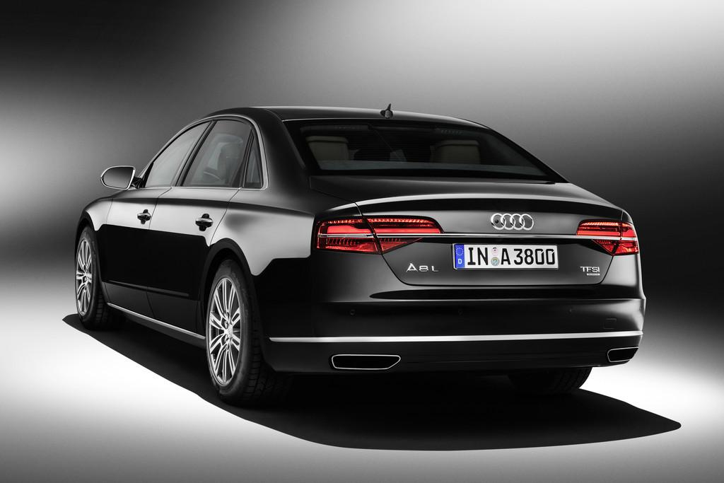 Audi zeigt erste Fotos vom 2014er A8 L Security