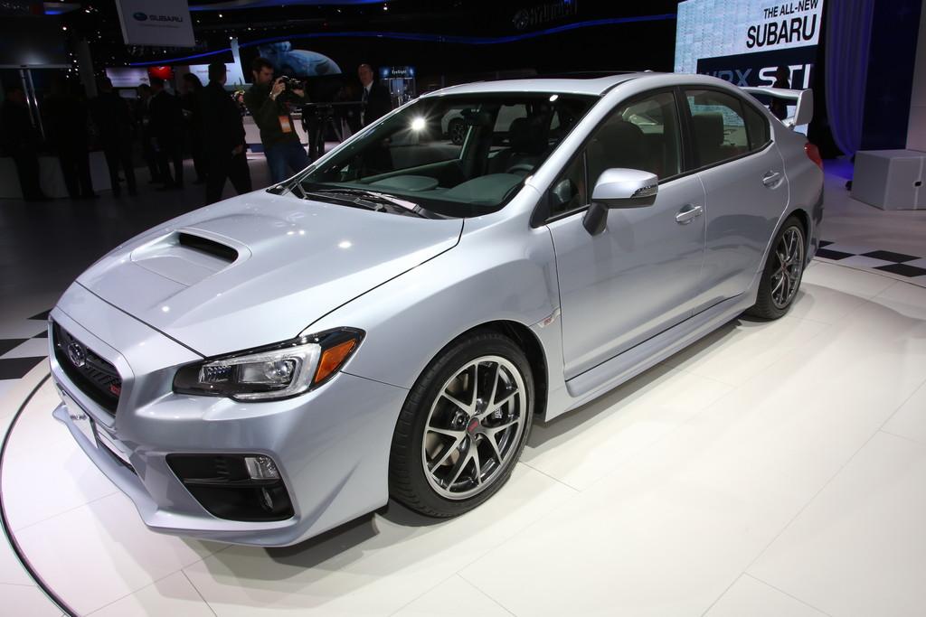 Subaru WRX STi auf der NAIAS 2014