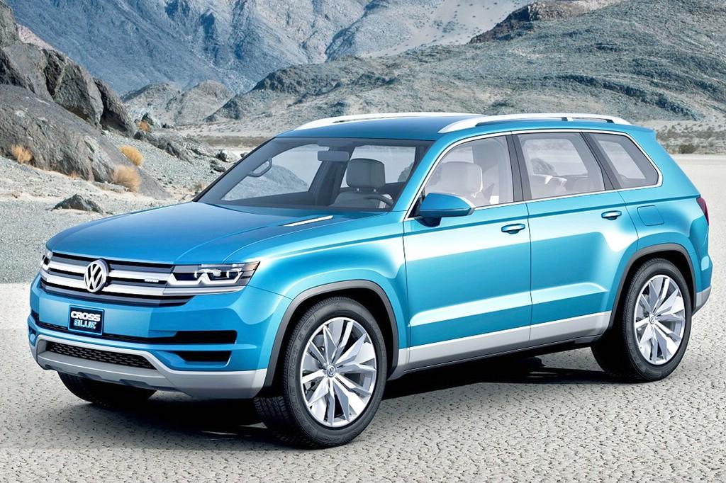Der VW CrossBlue wird künftig auch in China gebaut