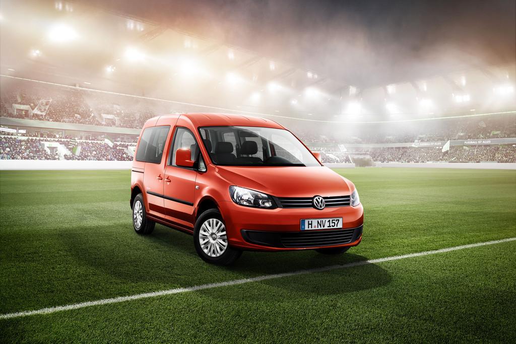 WM Sondermodell Volkswagen Caddy Soccer, exterieur