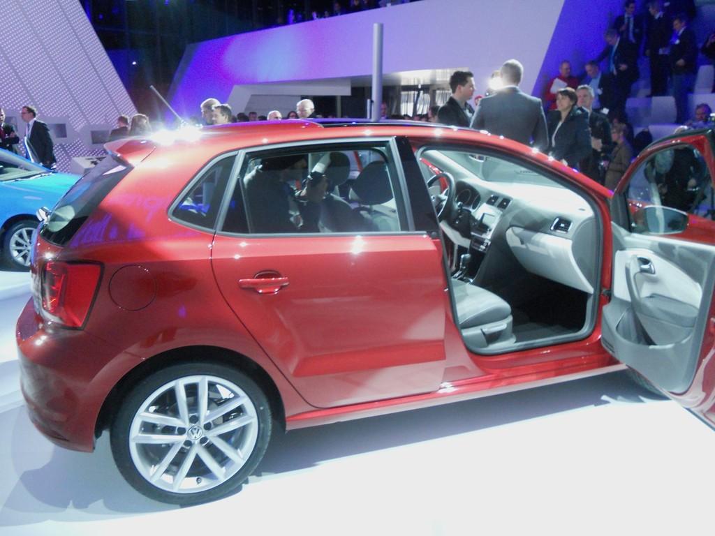 Erstes Bild vom Volkswagen Polo Facelift 2014