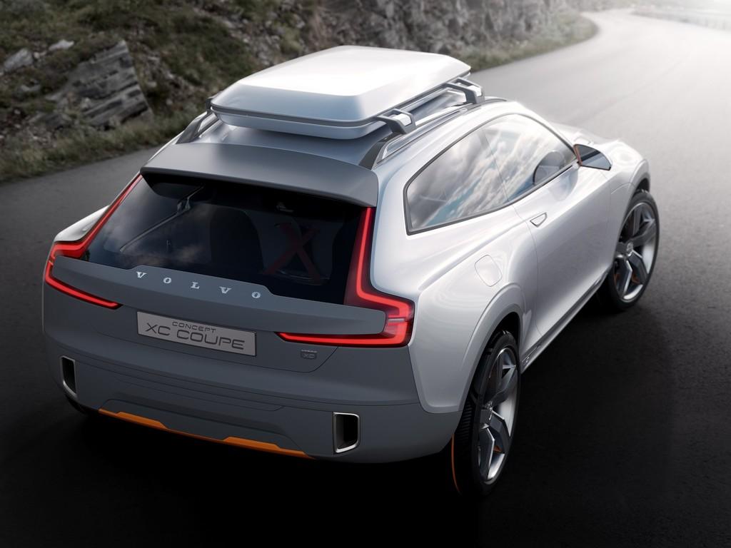 Auto der Zukunft: Der Volvo Concept XC Coupé