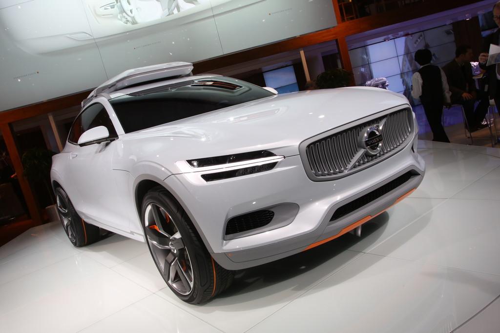 Volvo Concept XC Coupé auf der Detroiter Autoshow 2014