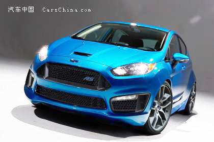 So könnte der Fiesta RS aussehen