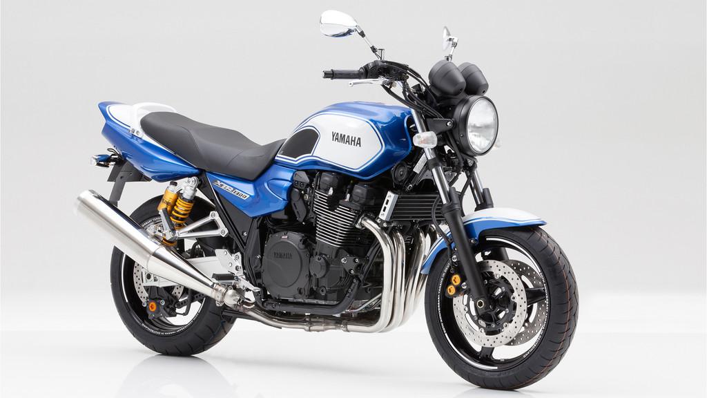 Die Yamaha XJR 1300 als 50th Anniversary