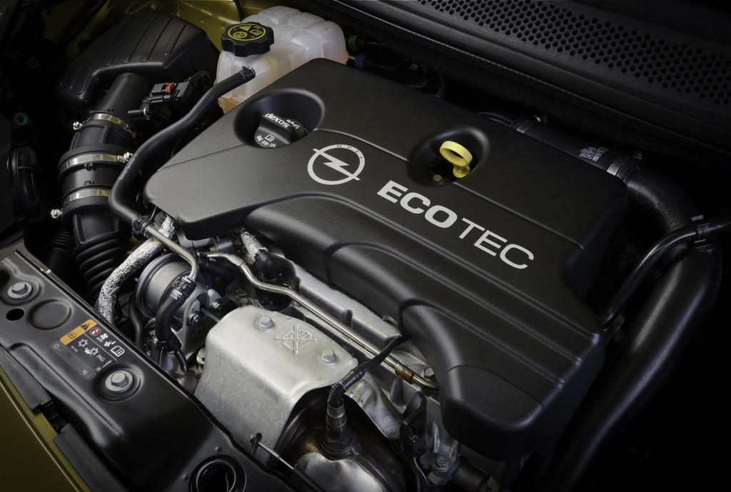 Unter der Haube des Opel Adam mit dem 1.0 Ecotec Direct Injection Dreizylinder-Turbo