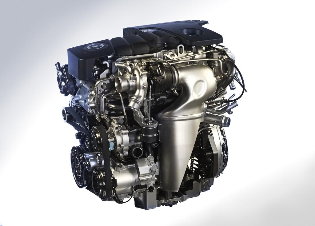 Der 1.6 CDTI Dieselmotor des Astra von Opel