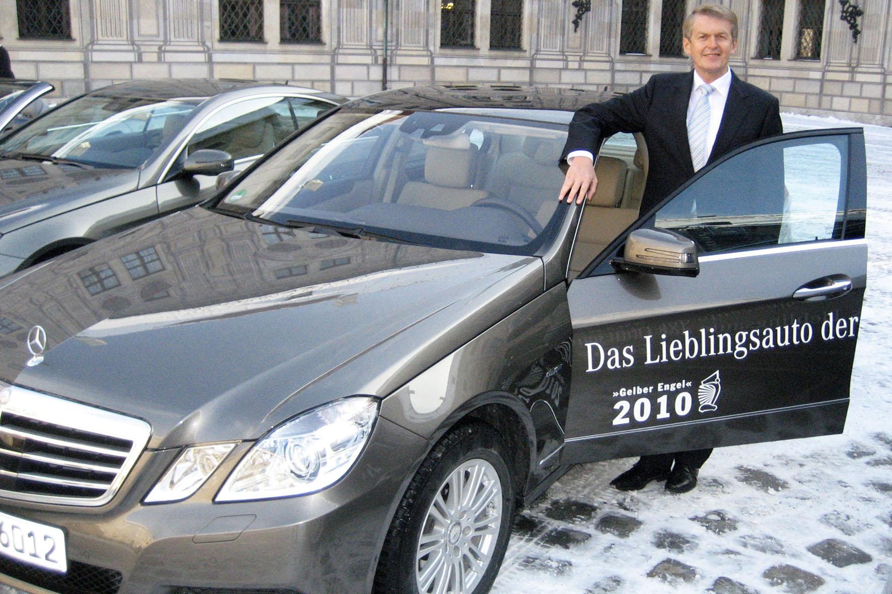 Die Mercedes E-Klasse war 2009 nicht das Lieblingsauto der Deutschen