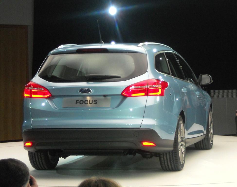 Das Facelift-Modell des Ford Focus Turnier, Modellgeneration 2014