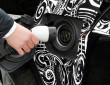 Aufladen eines BMW X5 eDrive mit Strom