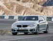 Fotoaufnahme vom fahrenden BMW 4er Gran Coupé
