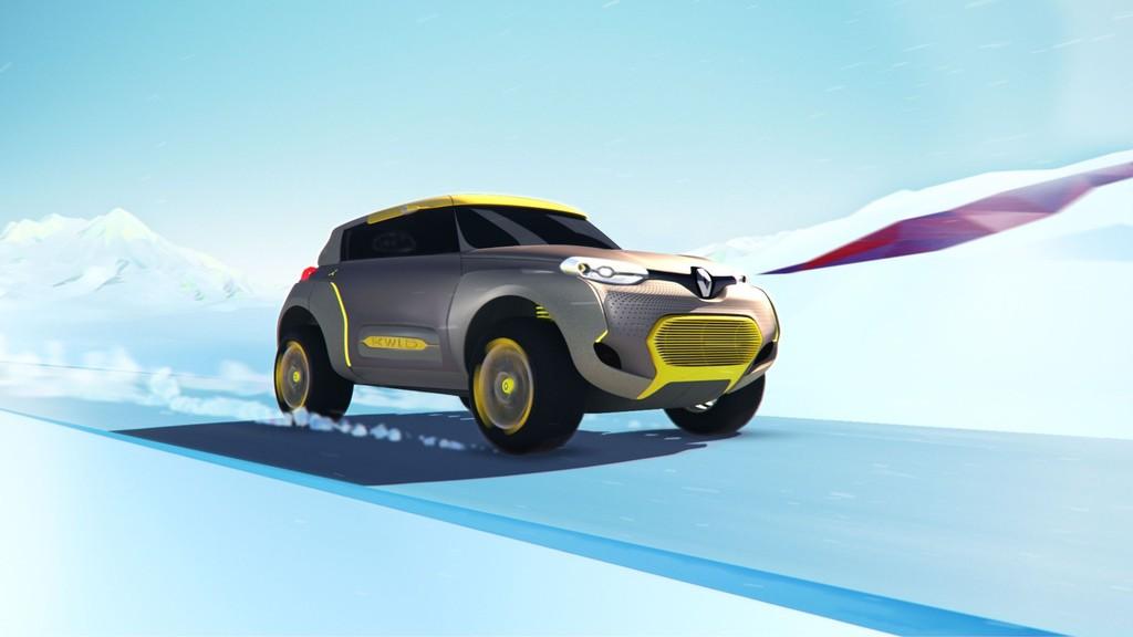 Exterieur Aufnahme vom Konzeptauto Renault Kwid