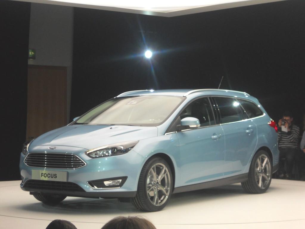 Der neue Focus Turnier vom Autobauer Ford, Modellgeneration 2014