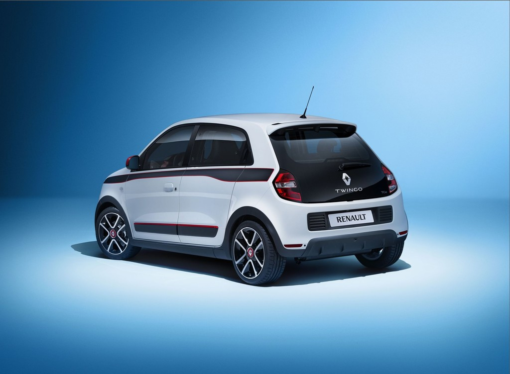 Die dritte Generation des Renault Twingo in der Heckansicht