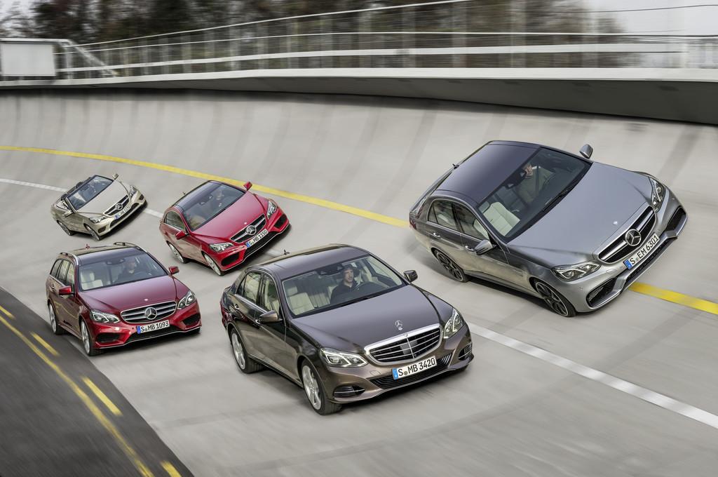 Die E-Klasse Varianten von Mercedes-Benz