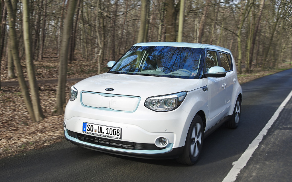 Das neue Elektro-Auto von Kia: der Soul EV