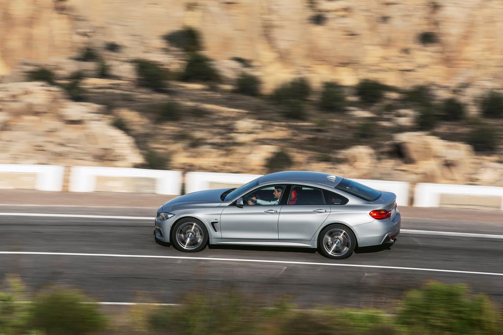 Das BMW 4er Gran Coupé ist 4,64 Meter lang