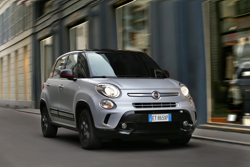 2014er Fiat 500L Sondermodell Beats Edition in der Frontansicht