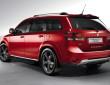 Die Cross-Version des Fiat Freemont in rot