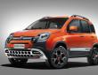 Die Cross-Version des Fiat Panda in orange